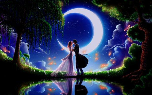 Crescent Moon Lovers