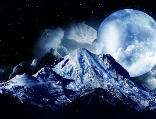 February Virgo Full Moon 2021-Snow Moon-Healing Virgo Full Moon
